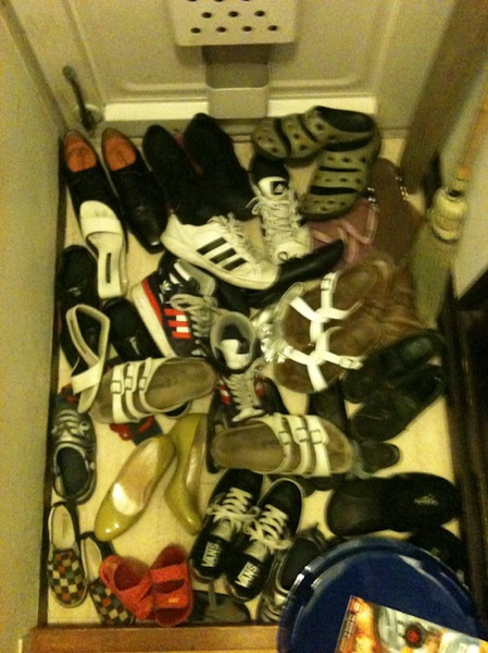 靴たくさん